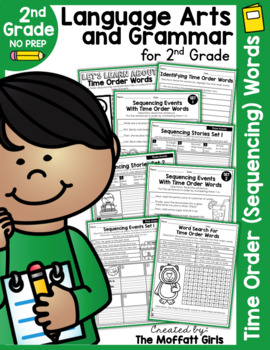 Time Order (Sequencing) Words NO PREP Packet