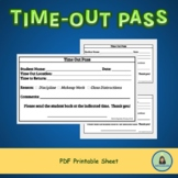 Time Out Pass