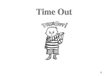 Time Out - Social Story