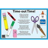 Time-Out Time Student Behavior Classroom Management Placemat