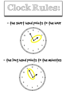 Time Pack: First Grade