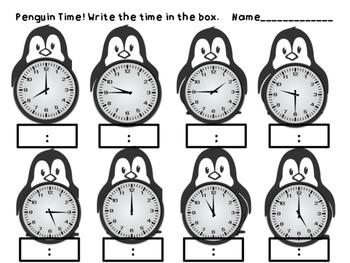 Time - Penguin Clocks