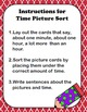 Time Picture Sort Work Station-Inspired by Debbie Diller's Math Work Stations