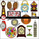 Time Pieces Clipart by Poppydreamz