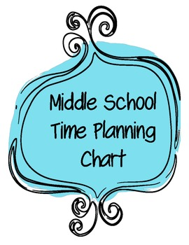 Time Planning Chart