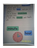 Time Poem Anchor Chart