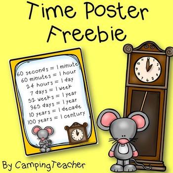 Time Poster Freebie!