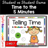 2nd Grade Time - Powerpoint Game - 2.MD.7