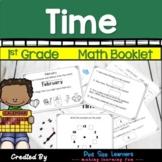 Time | Math Journals | First Grade
