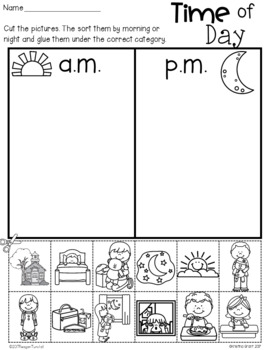 Time Practice Pages
