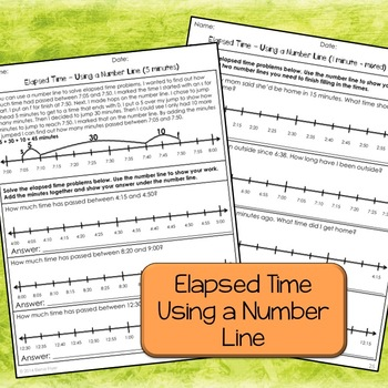 Time Printable Packet