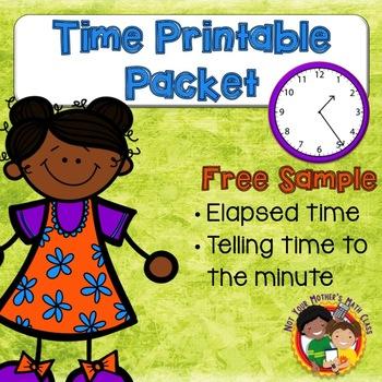 Time Printable Pack Free Sample
