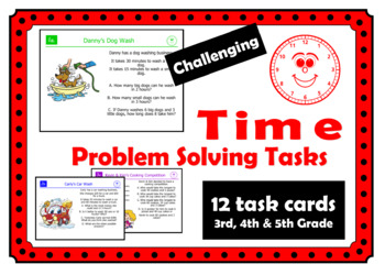 Time Problem Solving Tasks: Challenging and Enrichment Mathematical Tasks