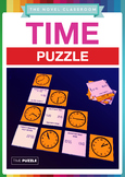 Time Puzzle - Math Measurement Activity