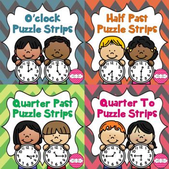 Time Puzzle Strips Bundle