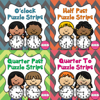 Time Puzzle Strips Bundle