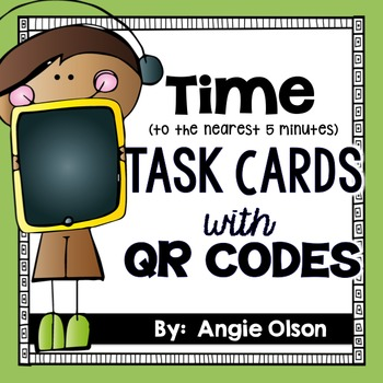 Time QR Code Task Cards