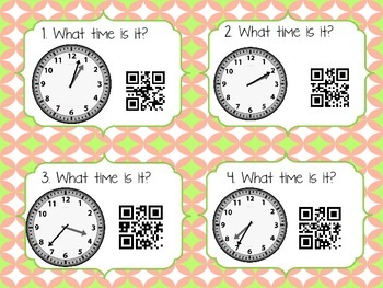 Time QR Codes