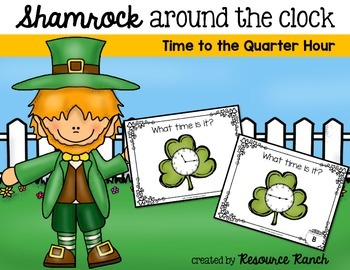 St. Patrick's Day Time Task Cards