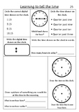 Time Quarter past - Pack 3