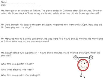 Time Quiz