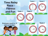 Time Race Fit & Fluency - Clocks, Hours, Half Hours, Quarter Hour, Five minutes