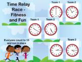 Time Race Fit & Fluency - Clocks, Hours, Half Hours, Quart