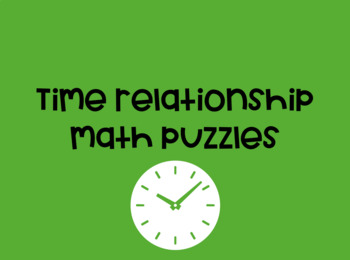 Time Relationships Puzzle