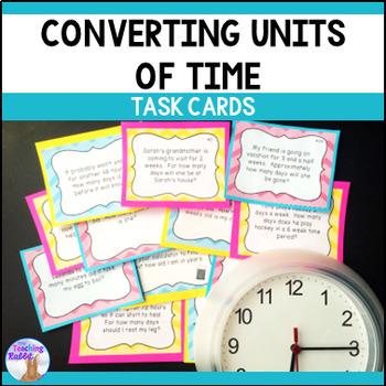Time Relationships Task Cards