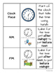 Telling Time Resource Bundle!  Math in Focus aligned