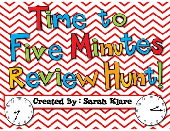 Time Review Hunt {to the 5 minute}