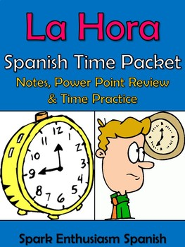 Time Review Packet in Spanish - La Hora