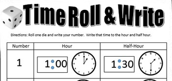 Time Roll and Write