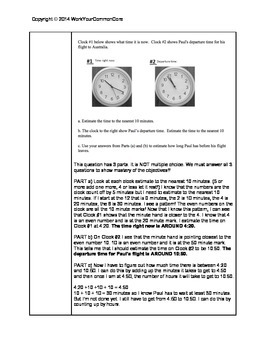 Time, Rounding + Place Value 1 Week Lesson Plans Common Core 3.NBT.A.1 3.MD.A.1