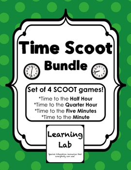 Time SCOOT Bundle
