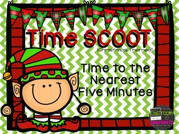 Time SCOOT (Nearest 5 Minutes) - Christmas Themed