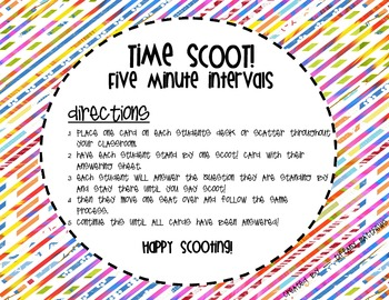 Time SCOOT!