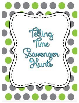 Time Scavenger Hunts