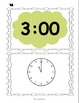 Time Scavenger Hunts: Hour, 5 minute interval, minute interval, & time language