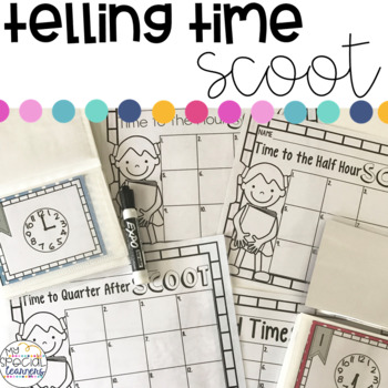 Time Scoot: 5 Differentiated Levels!