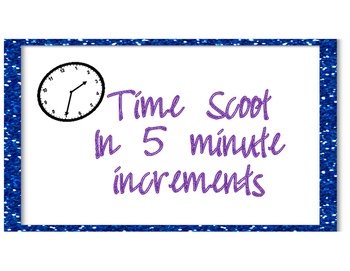 Time Scoot - 5 minute intervals