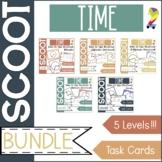 Time Scoot Bundle Game/Task Cards (All 4 sets!)