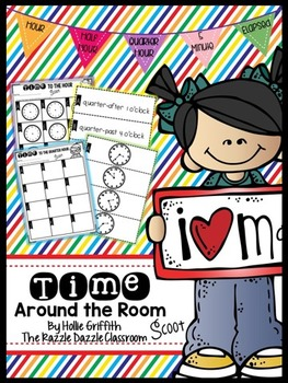 Time Scoot {Telling Time Around the Room}