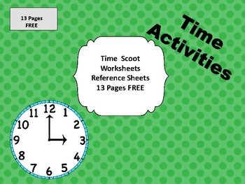 Time Scoot and Activities