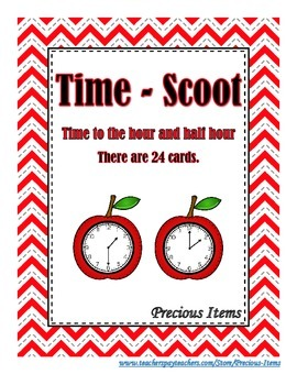 """""""Time"""" Scoot (to the hour and half hour)"""