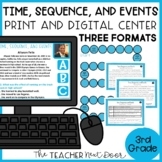 Time, Sequence, and Events Game | Time, Sequence, and Events Activity