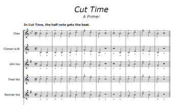Time Signature Bundle: Teach Cut Time & Six-Eight | Poster Set Included