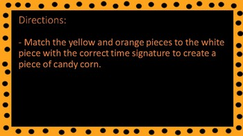 Time Signature Candy Corn