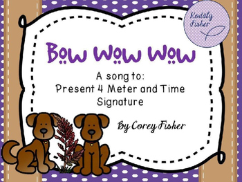 Time Signature Introduction - Bow Wow Wow