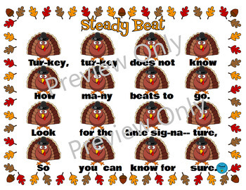 Time Signature Turkey: Music Game